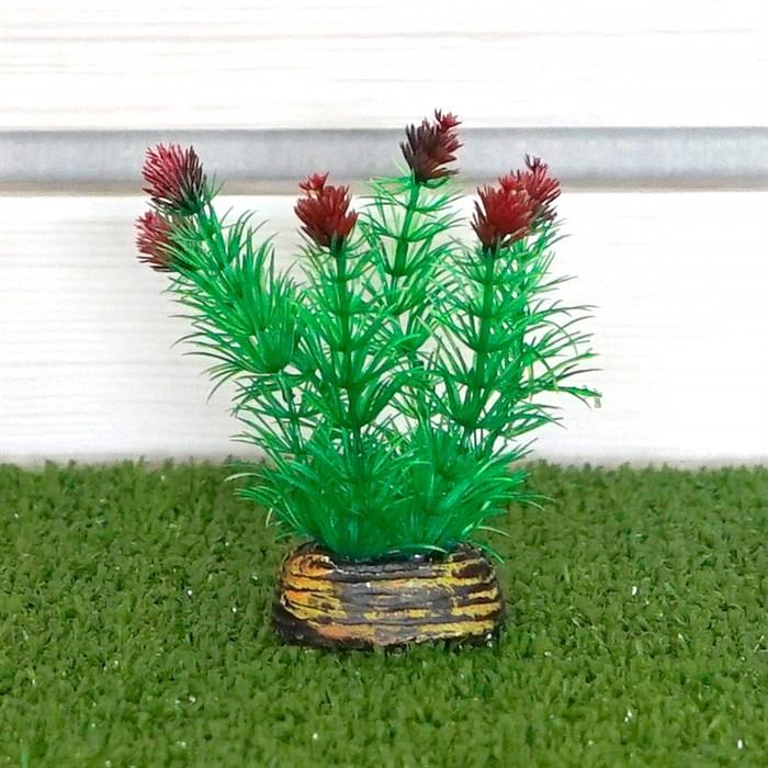 Растение ТРИТОН пластмас. 13см 1338 - фото 61606
