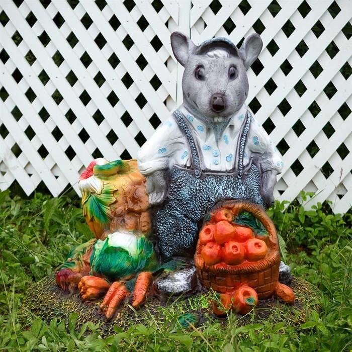 Крышка люка Крыс с овощами - фото 63064