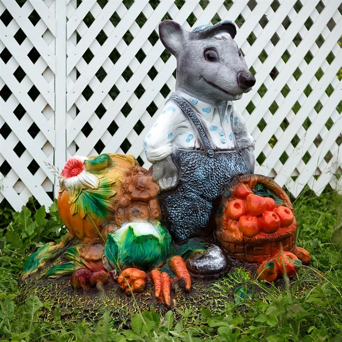 Крышка люка Крыс с овощами - фото 63065