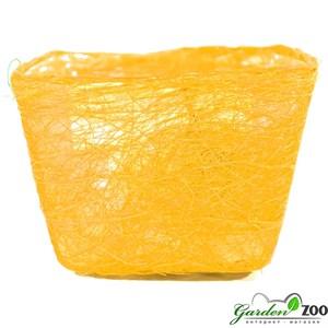 Корзина 100*140*145 квадратная желтая из сизаля Добавление/Редактирование товара