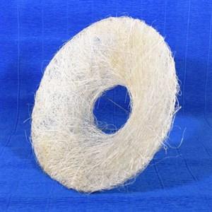 Каркас для букета 25 см сизаль гладкий белый