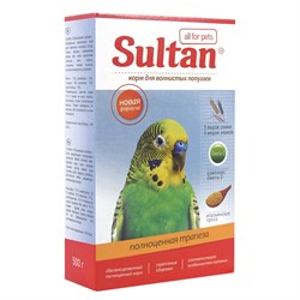 Корм СУЛТАН для попугаев