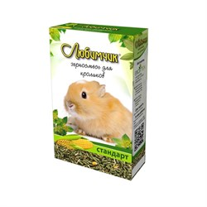 Корм ЛЮБИМЧИК для кроликов