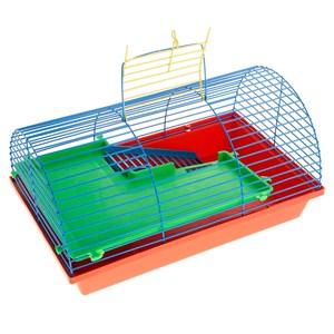 Клетка ГРИЗЛИ для грызунов полукруглая (пластик)