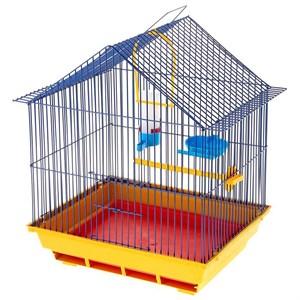 Клетка ГРИЗЛИ Домик для птиц малая комплект
