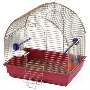 Клетка для птиц Малая полукруглая комплект