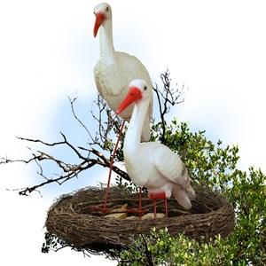 Фигура Гнездо с аистами