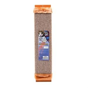 Когтеточка ЗВЕРЬЕ МОЕ М-4 ковровая с мехом большая