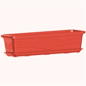 Ящик балконный 60*15см 9л терракотовый