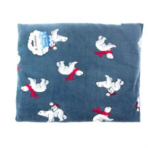 Лежак коврик S прямоугольный с мишками 50*40см