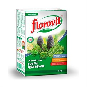 Удобрение Флоровит для хвойных 1кг гранулированное