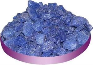 Грунт ТРИТОН 800г галька синяя крупная