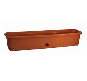 Ящик балконный 800 коричневый