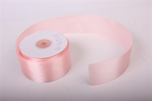 Лента атлас 15мм х 25 м К нежно-розовая