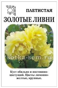 Роза Золотые Ливни