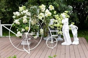 Подставка для цветов Велосипед (аренда)