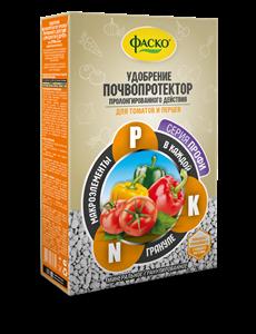 Удобрение Почвопротектор для томатов и перцев 1кг минеральное (5)