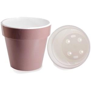 Горшок Протея 2,3л розово-белый