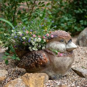 Кашпо садовое Птичка