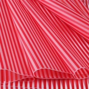 Пленка матовая 700 Полоса вертикаль красный