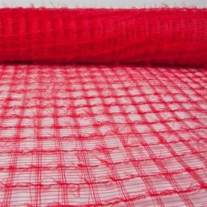 Сетка Флис 53см*6м красный