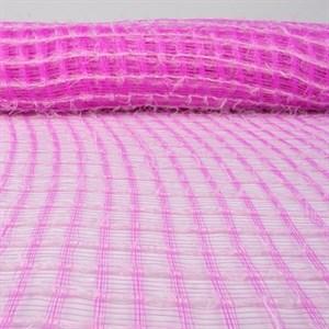 Сетка Флис 53см*6м розовый