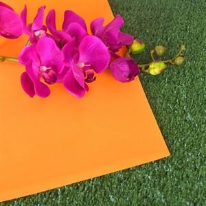 Фоамиран 60*70 0,8мм оранжевый