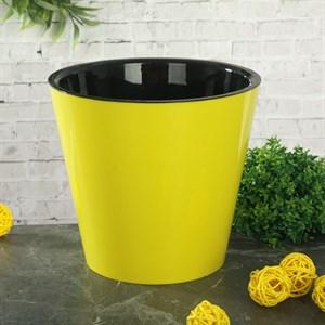 Горшок Фиджи 16см 1,6л желтый