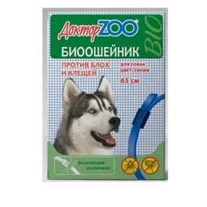 БИОошейник ДОКТОР ЗОО  от блох для собак  синий