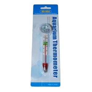 Термометр стеклянный толстый с присоской