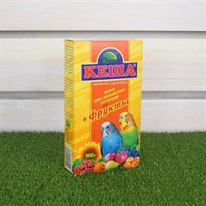 Корм КЕША для попугаев 500г (фрукты)