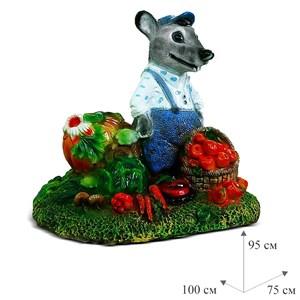 Крышка люка Крыс с овощами - фото 63063