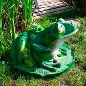 Крышка люка Лягушка большая - фото 63076