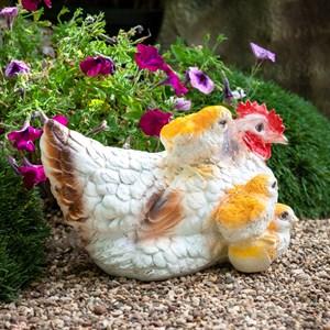 Фигура Курица с тремя цыплятами