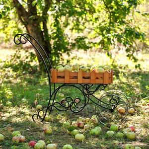 Садовая тележка с деревом