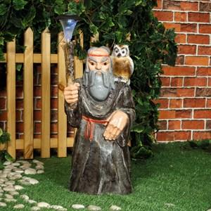 Светильник Старик с филином