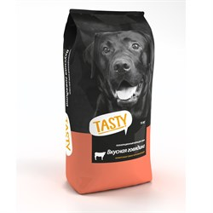 Корм Тэсти для собак 15кг говядина