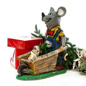 Фигура Крыс с тачанкой