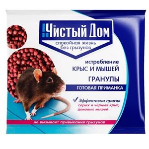 Чистый дом Зерновая примака от крыс и мышей 200гр