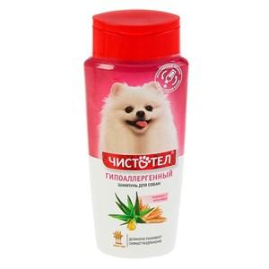 Шампунь ЧИСТОТЕЛ от блох гипоаллергенный для собак 270мл