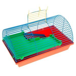 Клетка ГРИЗЛИ для грызунов 2-х этаж полукруглая