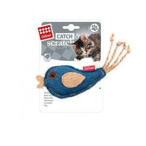 Игрушка В.И.Пет для кошек Птичка с мятой