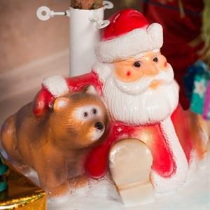 Подставка елочная Дед Мороз с мешком