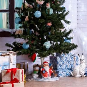 Подставка под елку Дед Мороз со Снеговиком U07811