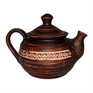 Чайник Ангоб Триполье 0,9л гончарный