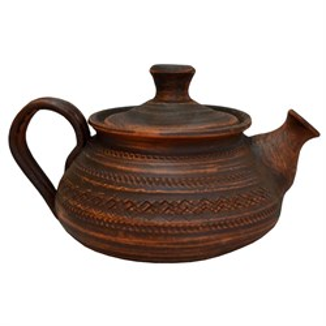 Чайник Накат 0,9л гончарный