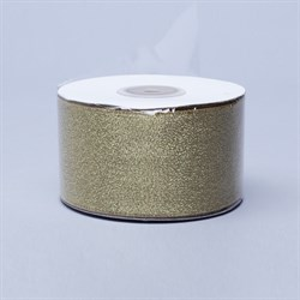 Лента парча 18мм*22м золото