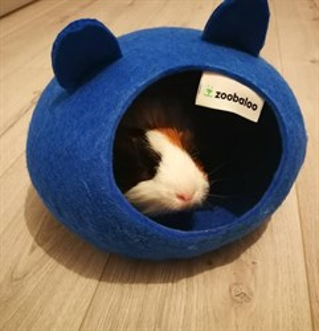 Домик-слипер M круг с ушками синий
