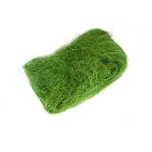 Сизалевое волокно 40гр зеленое