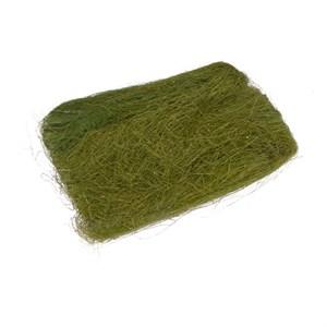 Сизалевое волокно 40гр темно-зеленое